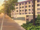 Hikarizaka Private High School Student Male Dormitory