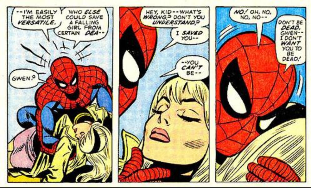Spider-Man Night Gwen Stacy Died