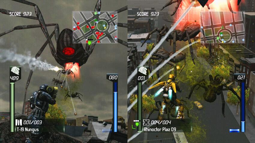 EDF Split-Screen: Insect Armageddon