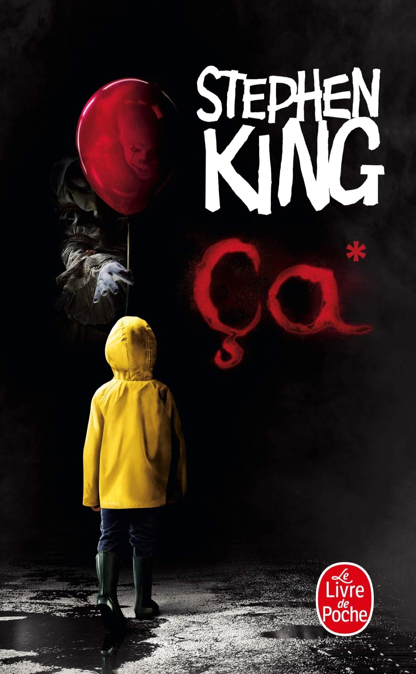"Livre ""Ça"" de Stephen King."