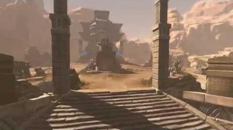 Cabal 2 Forgotten Desert Temple Battleground
