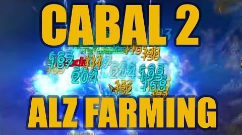 ◥Cabal 2◤ Alz Farming Level 20 grinding spot