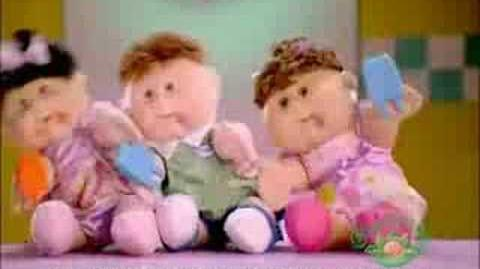 "Cabbage Patch Kids ""Messy Messy"""