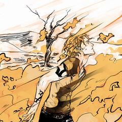 Jace queimando com seu <a href=