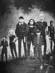 AD Diana, Kieran, and the Blackthorns