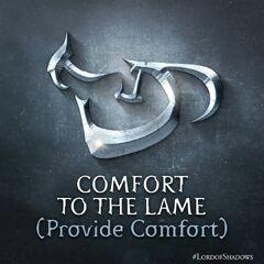 Consolo / Conforto para o Aleijado (Fornecer Conforto)