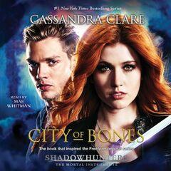 Capa do audiolivro versão tie-in da série de TV