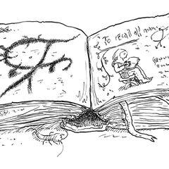 Ilustração do começo do capítulo 13, apresentando o <a href=