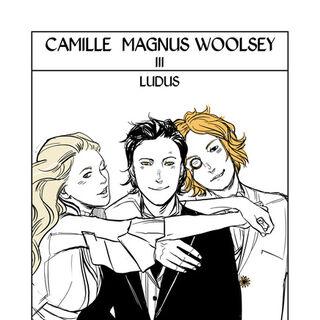 Carta de Tarô, com Magnus e Woolsey