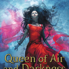 Capa alemã (<i>Queen of Air and Darkness</i>)