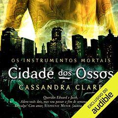 Capa do audiolivro brasileiro