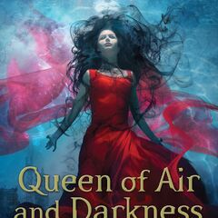 Capa americana (<i>Queen of Air and Darkness</i>)