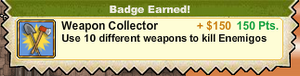 Weapon Collector