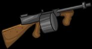 Machine Gun render