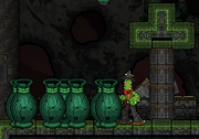 Emerald Shrine platform