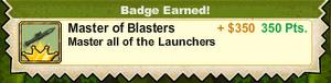 Master of Blasters