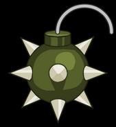Thorn Bomb render