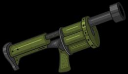 Grenade Launcher render