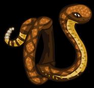 Rattlesnake render