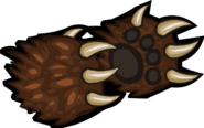 Bear Claws render