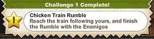 Chicken Train Rumble