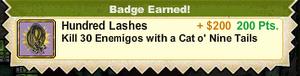 Hundred Lashes
