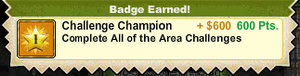Challenge Champion