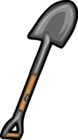 Shovel render