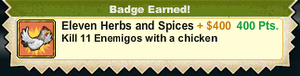 Eleven Herbs and Spices