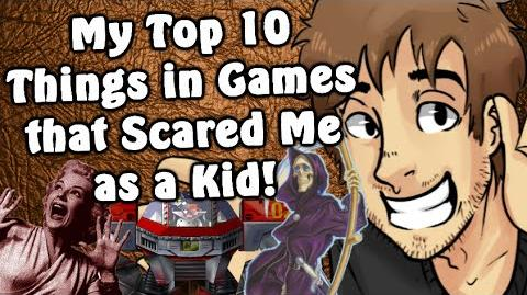 My Top 10 Things in Games that Scared Me as a Kid! - Caddicarus