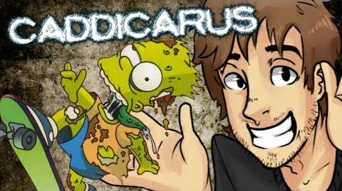 The Simpsons- Tony Hoax Skateboarding - Caddicarus