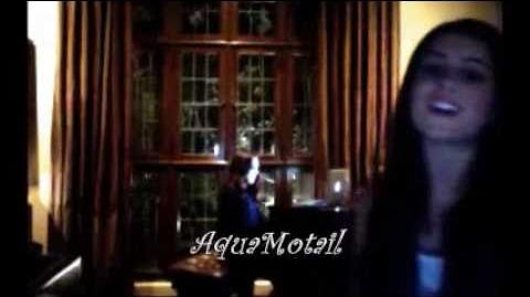 Ariana Grande & Liz Gillies sing random songs, part 2