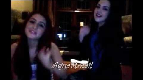 Ariana Grande & Liz Gillies singing random songs, part 1