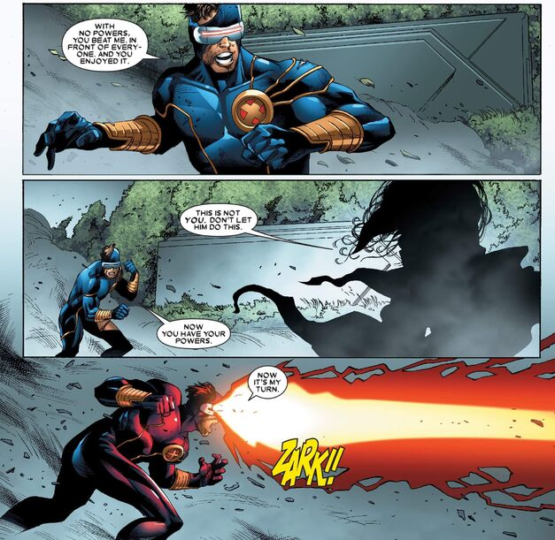 X-Men Worlds Apart Cyclops vs Storm 001