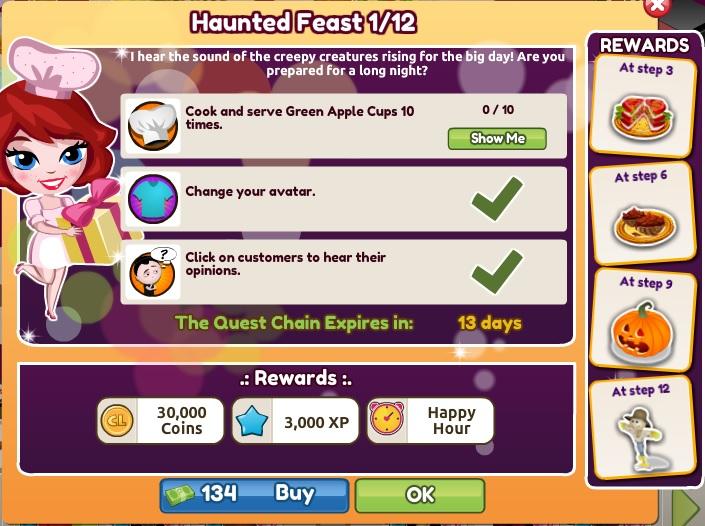 Haunted Feast 1 of 12