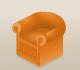 Orangearmchair