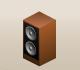 Woodcolumnspeaker