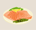 Grilledsalmonfillets