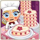 Chef special valentine cake