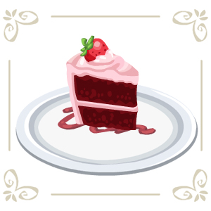 Red Velvet Cake Gift Cafe World Wiki Fandom Powered By Wikia