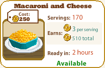 Macaroni and Cheese 1