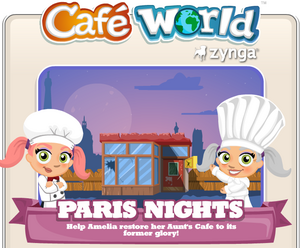 Paris Nights Splash Screen