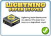 Lightning super stoves notice