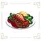 Steakstuffedlobsterwhitebg