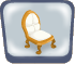 Fancy Gold Chair