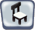 Black Marble Chair