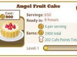 Angel Fruit Cake