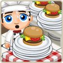 Chef special bacon cheeseburger