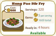 Kung Pao Stir Fry