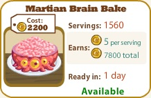 Martian Brain Bake